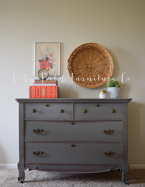 Harp Dresser Before Amp After Lily Field Co