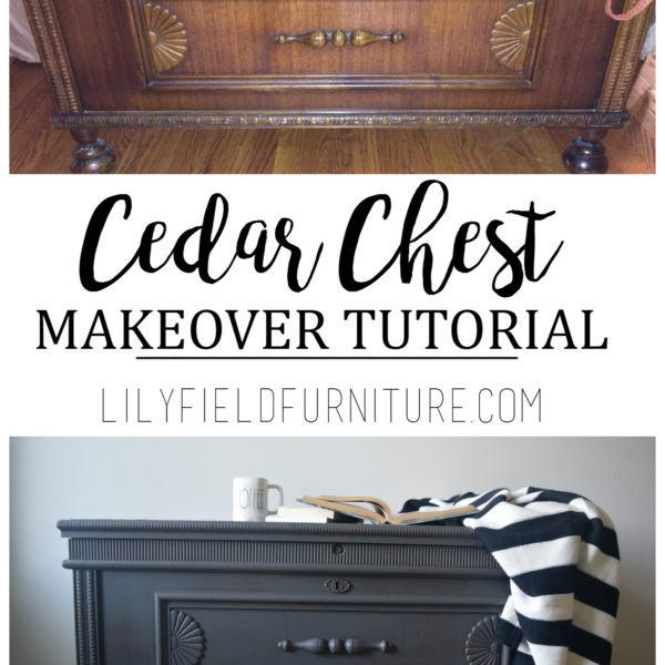 Cedar Chest Makeover Tutorial