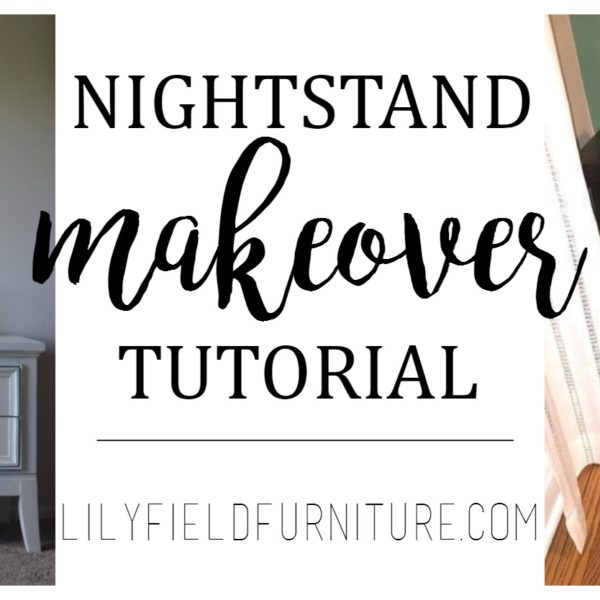 Nightstand makeover tutorial using Chalk Paint®