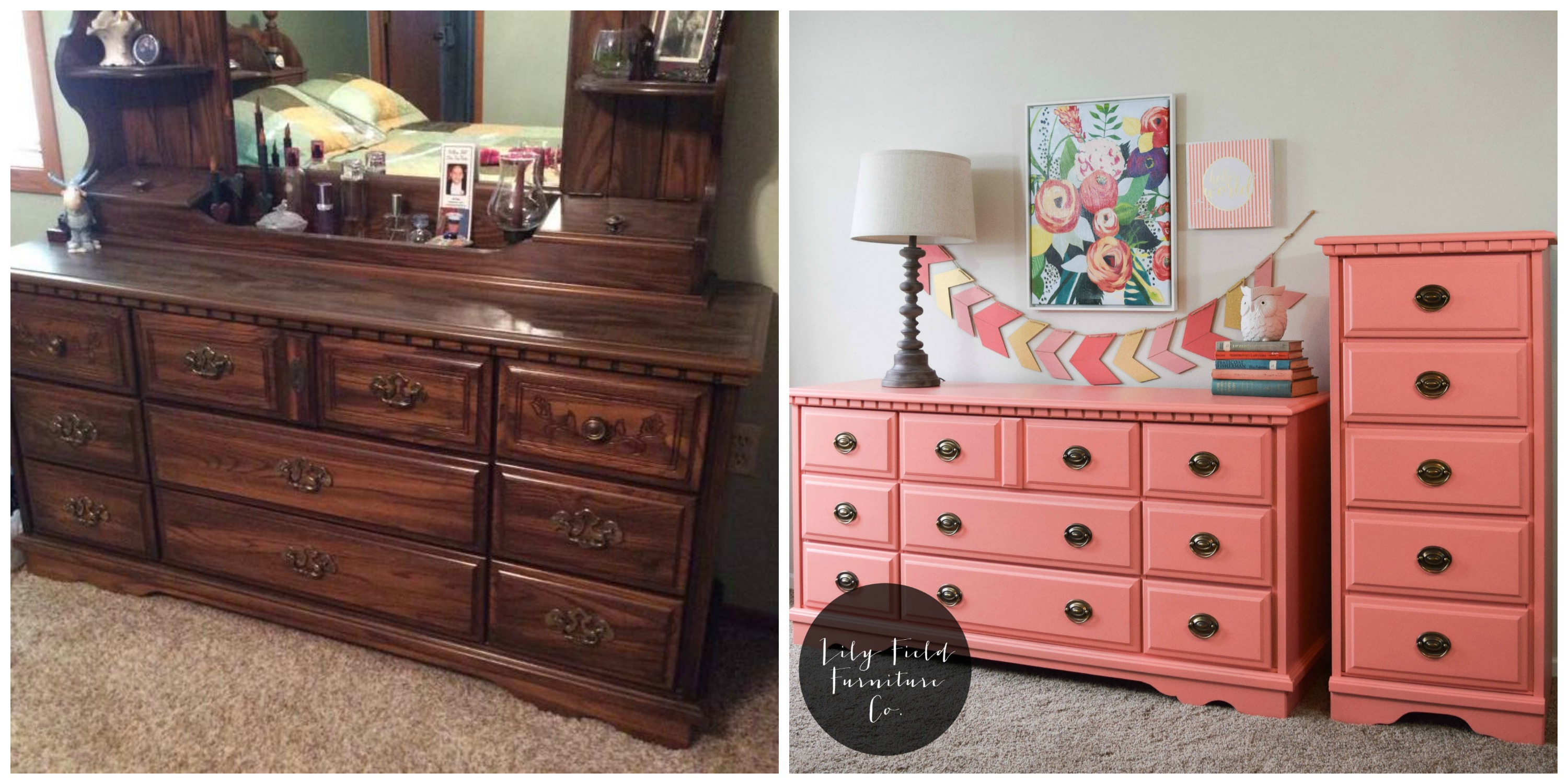 Updating A Dresser From The 80s In A Few Simple Steps Lily Field Co