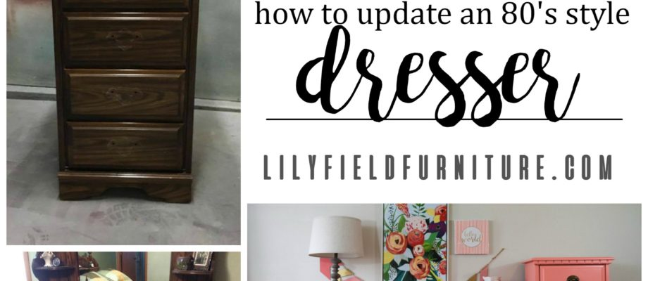 Updating a Dresser from the 80's in a few simple steps