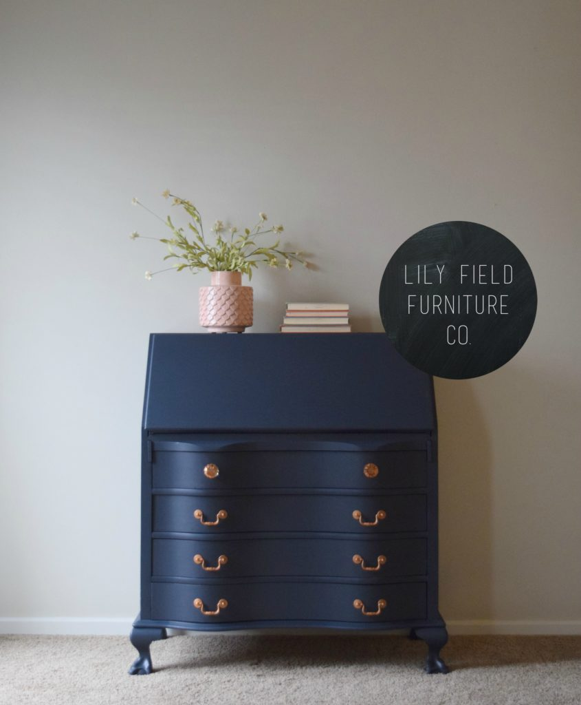 How to transform an old secretary desk with paint!