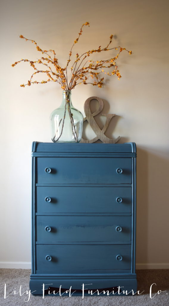 Learn how to paint an ombre or watercolor effect on your furniture!
