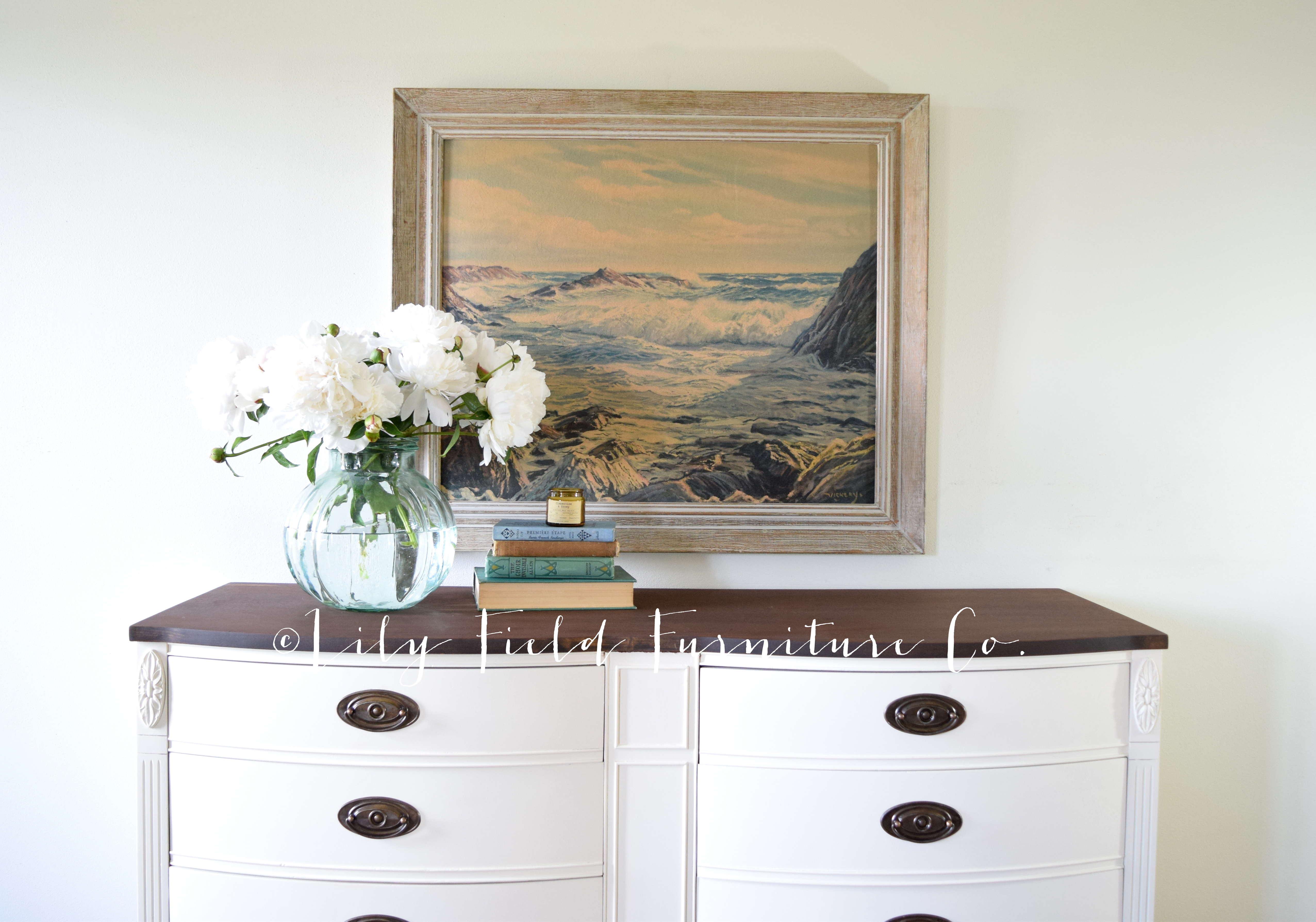 Fusion Mineral Paint Limestone Dresser Makeover Lily Field Co