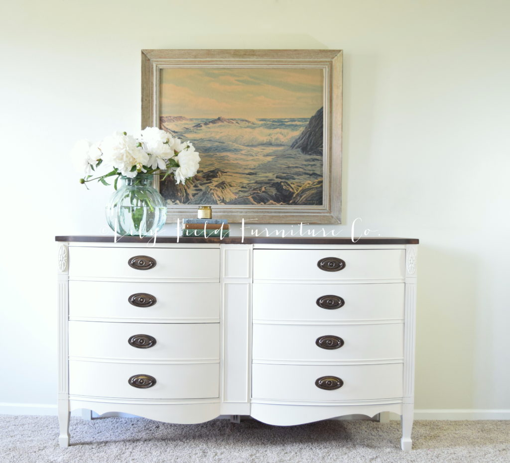 Fusion Mineral Paint Limestone Dresser Makeover Lily