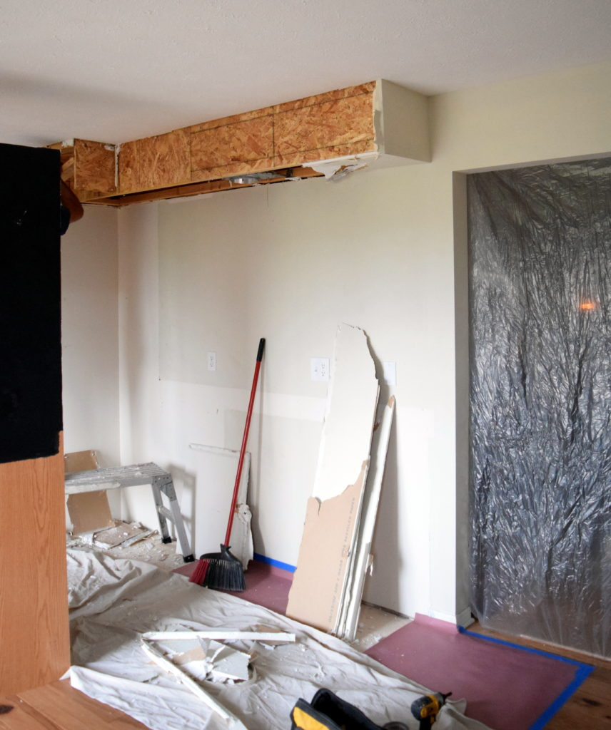 What Is A Kitchen Soffit And Can I Remove It: Kitchen Renovation Files- Removing The Soffit