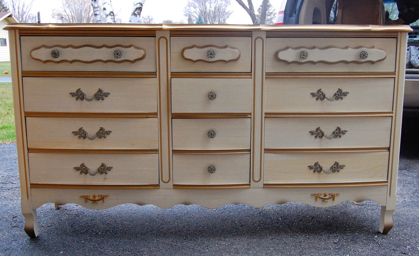 French Provincial Bedroom Set Before After Lily Field Co